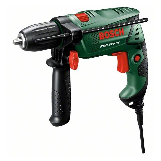 BOSCH 060312800A TALADRO 680W PSB 7000RE + 4 BROCAS MULTI BOSCH