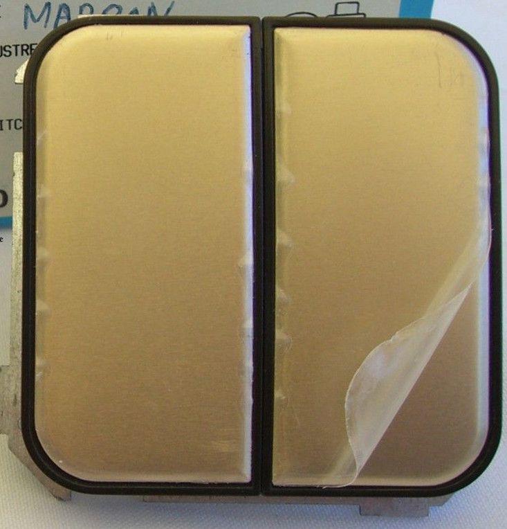Interruptor doble bronce venta online material el ctrico - Interruptor simon 31 ...