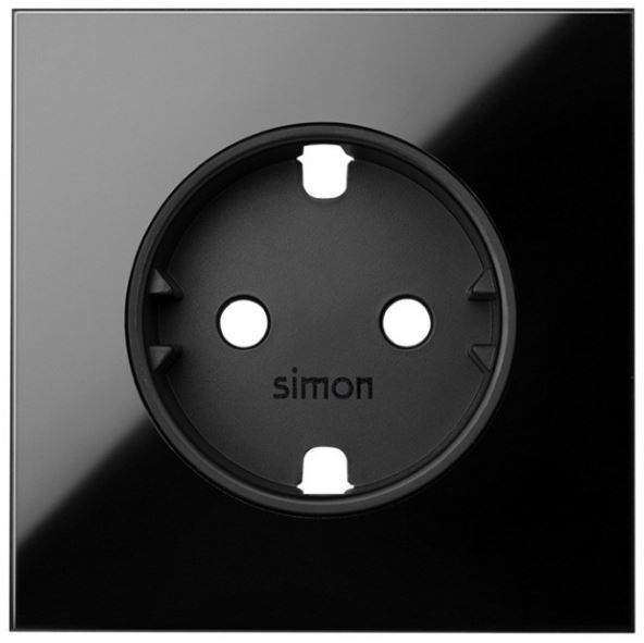 SIMON 10000041-138 TAPA P/BASE ENCHUFE SCHUKO S.100 NG.