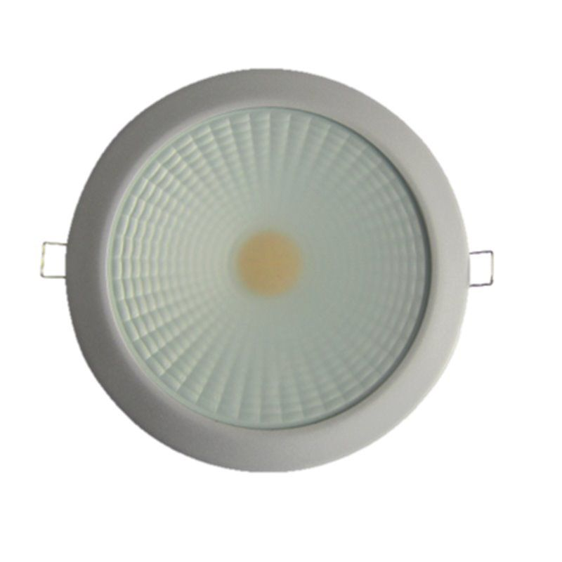 "PROLUX 0129090838 DOWNLIGHT ALUMINIO LED ""SLIM"" NIQUEL MATE 25W 4200 (625)"
