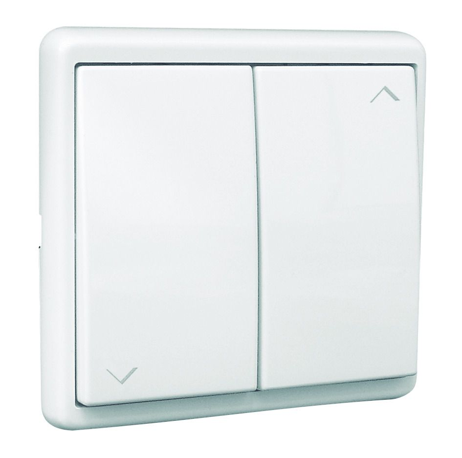 EFAPEL 50281 CBR PULSADOR DOBLE PERSIANA APOLO BLANCO