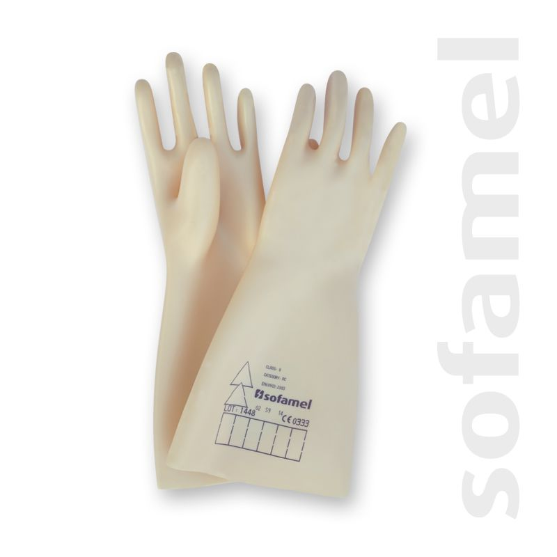 SOFAMEL 530150 GUANTES DIELECTRICOS SG-50 T9