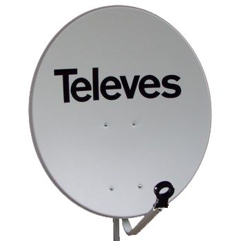 TELEVES 753501 ANTENA PARAB.OFF-SET Fe DISCO 650 BL.