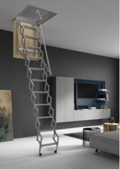 FARAONE 1015090 Escalera escamoteable 50x90 RE1011015090