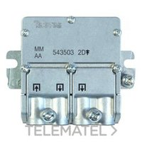 TELEVES 543503 MINI-REPART.5.2400MHZ EASY F 2D 4,3/4DB TELEVES